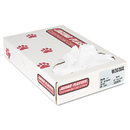 UNISAN JAGW3036X Industrial Strength Commercial Can Liners, 20-30gal, .9mil, White, 100/carton