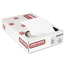 UNISAN JAGW4347X Industrial Strength Commercial Can Liners, 56gal, .9mil, White, 100/carton
