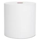 Scott KCC01000 Hard Roll Towels, 8 X 1000ft, White, 12 Rolls/carton