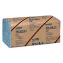 WypAll KCC05123 L10 Windshield Towels, 9 1/10 X 10 1/4, 1-Ply, L-Blue, 224/pack, 10 Packs/carton