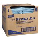 WypAll KCC05927 X70 Foodservice Towels, 1/4-Fold, 12 1/2 X 23 1/2, Blue, 300/carton