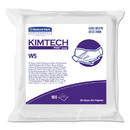 Kimtech 6179 W5 Critical Task Wipers, Flat Double Bag, Spunlace, 9x9, White, 100/Pk, 5/Carton