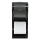 Kimberly-Clark Professional* KCC09021 Coreless Double Roll Bath Tissue Dispenser, 6 6/10 X 6 X13 6/10, Plastic, Smoke
