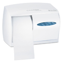 Kimberly-Clark Professional* KCC09605 Coreless Double Roll Tissue Dispenser, 11 1/10 X 6 X 7 5/8, White