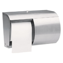 Kimberly-Clark Professional* KCC09606 Coreless Double Roll Tissue Dispenser, 7 1/10 X 10 1/10 X 6 2/5, Stainless Steel