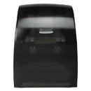 Kimberly-Clark Professional* KCC09996 Sanitouch Hard Roll Towel Dispenser, 12 63/100w X 10 1/5d X 16 13/100h, Smoke