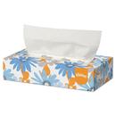 Kleenex KCC21606CT White Facial Tissue, 2-Ply, Pop-Up Box, 125 Sheets, 48/carton