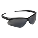 Jackson Safety* KCC25688 V30 Nemesis Safety Glasses, Black Frame, Smoke Lens