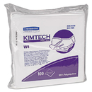Kimtech KCC33330 W4 Dry Wipers, Flat, 12 X 12, White, 100/pack, 5 Packs/carton