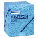 Kimtech KCC33560 Kimtex Wipers, 1/4-Fold, 12 1/2 X 13, Blue, 66/box, 8 Boxes/carton