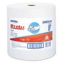 WypAll KCC34955 X60 Wipers, Jumbo Roll, 12 1/2 X 13 2/5, 1100 Towels/roll