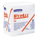 WypAll KCC41026 X80 Hydroknit Wipes, 1/4-Fold, 12 1/2 X 13, White, 50/box, 4 Boxes/carton