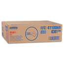 WypAll KCC41100 X70 Wipers, Flat Sheet, 9 X 16 3/5, White, 300/carton