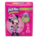 Huggies 45140 Pull-Ups Learning Designs Potty Training Pants for Girls, Size 3T-4T, 22/Pack