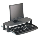 Kensington KMW60717 Over/under Keyboard Drawer With Smartfit System, 14-1/2w X 23d, Black