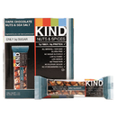 Kind KND17851 Nuts And Spices Bar, Dark Chocolate Nuts And Sea Salt, 1.4 Oz, 12/box