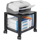 KANTEK INC. KTKPS510 Mobile Printer Stand, Two-Shelf, 17w X 13-1/4d X 14-1/8h, Black