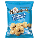 Grandma'S LAY45095 Mini Vanilla Creme Sandwich Cookies, 3.71 Oz, 24/carton