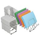 Lee 14124 Flexifile Expandable Collator/Organizer, 24 Slot, 6 1/2 x 10 1/4 x 10 1/2, Silver