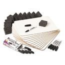 Charles Leonard LEO35036 Lapboard Class Pack, Dry Erase Boards, 9 X 12, White, 12/kt