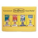 Lil' Drugstore 71622 Single-Dose Medicine Dispenser, 105-Pieces, Plastic Case, Yellow