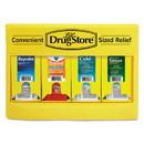 Lil' Drugstore 71992 Cold and Flu Single Dose Dispenser, 170-Pieces, Plastic Case, Yellow/Black