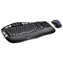 Logitech LOG920002555 Mk550 Wireless Desktop Set, Keyboard/mouse, Usb, Black