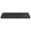 Logitech 920-007119 Wireless Touch Keyboard K400 Plus, Black