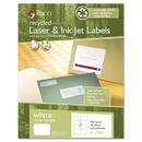 Maco MACRL7000 Recycled Laser/inkjet White Name Badge Labels, 3 3/8 X 2 1/3, White, 400/box