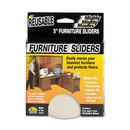MASTER CASTER COMPANY MAS87007 Mighty Mighty Movers Reusable Furniture Sliders, Round, 5