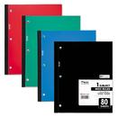 Mead MEA05222 Wireless Neatbook Notebook, Wide Rule, 8 X 10 1/2, White, 80 Sheets