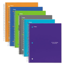Five Star MEA06044 Trend Wirebound Notebooks, College Rule, 8 1/2 X 11, 1 Subject, 100 Sheets
