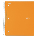 Five Star MEA06050 Trend Wirebound Notebook, College Ruled, 8 1/2 X 11, White, 3 Subject 150 Sheets