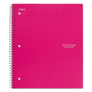 Five Star MEA06112 Trend Wirebound Notebooks, College Rule, 8 1/2 X 11, 5 Subject, 200 Sheets