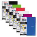 Five Star MEA06190 Wirebound Quadrille Notebook, 8 1/2 X 11, 1 Subject, White, 100 Sheets, Assorted