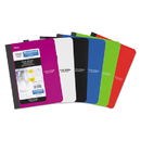 Mead MEA09120 Composition Book, College Rule, 9 3/4 X 7 1/2, 1 Subject, 100 Sheets, Assorted