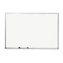 Mead MEA85358 Dry-Erase Board, Melamine Surface, 72 X 48, Silver Aluminum Frame