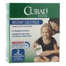 Curad MIICUR961R Instant Cold Pack, 2/box