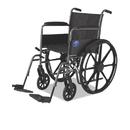 MEDLINE INDUSTRIES, INC. MIIMDS806150EE Excel K1 Basic Wheelchair, 18w X 16d, 300lb Cap