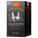 Melitta MLA75415 Coffee Pods, Love At First Sip (medium Roast), 18 Pods/box