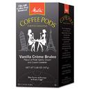 Melitta MLA75416 Coffee Pods, Vanilla Creme Brulee, 18 Pods/box