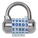 MASTER LOCK COMPANY MLK1534D Password Plus Combination Lock, Hardened Steel Shackle, 2 1/2