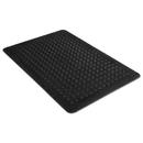MILLENNIUM MAT COMPANY MLL24020300 Flex Step Rubber Anti-Fatigue Mat, Polypropylene, 24 X 36, Black