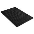 MILLENNIUM MAT COMPANY MLL24030500 Flex Step Rubber Anti-Fatigue Mat, Polypropylene, 36 X 60, Black