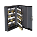 Steelmaster MMF2017290G2 Security Key Cabinets, 90-Key, Steel, Charcoal Gray, 12 X 4 1/4 X 14 3/4