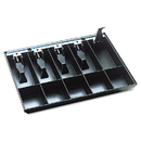 Steelmaster MMF225286204 Cash Drawer Replacement Tray, Black