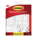 Command 17231ES General Purpose Hooks, Variety Pack, Assorted Sizes, 54 Pieces/Pack