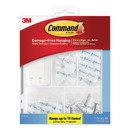 Command 17232ES Clear Hooks and Strips, Plastic, Asst, 16 Picture Strips/15 Hooks/22 Strips/PK