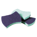 Scotch-Brite MMM3000CT Power Sponge #3000, 2 4/5 X 4 1/2, Blue/teal