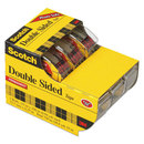 3M/COMMERCIAL TAPE DIV. MMM3136 665 Double-Sided Permanent Tape In Hand Dispenser, 1/2